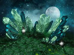 Crystal-supermoon